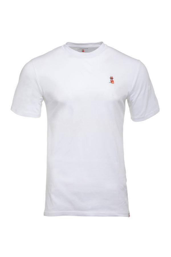The BIG FOX Signature White T Shirt