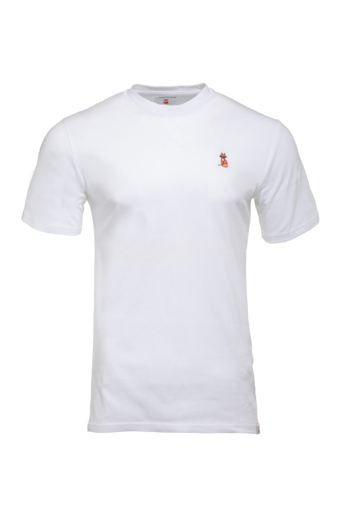 The BIG FOX Signature White T Shirt