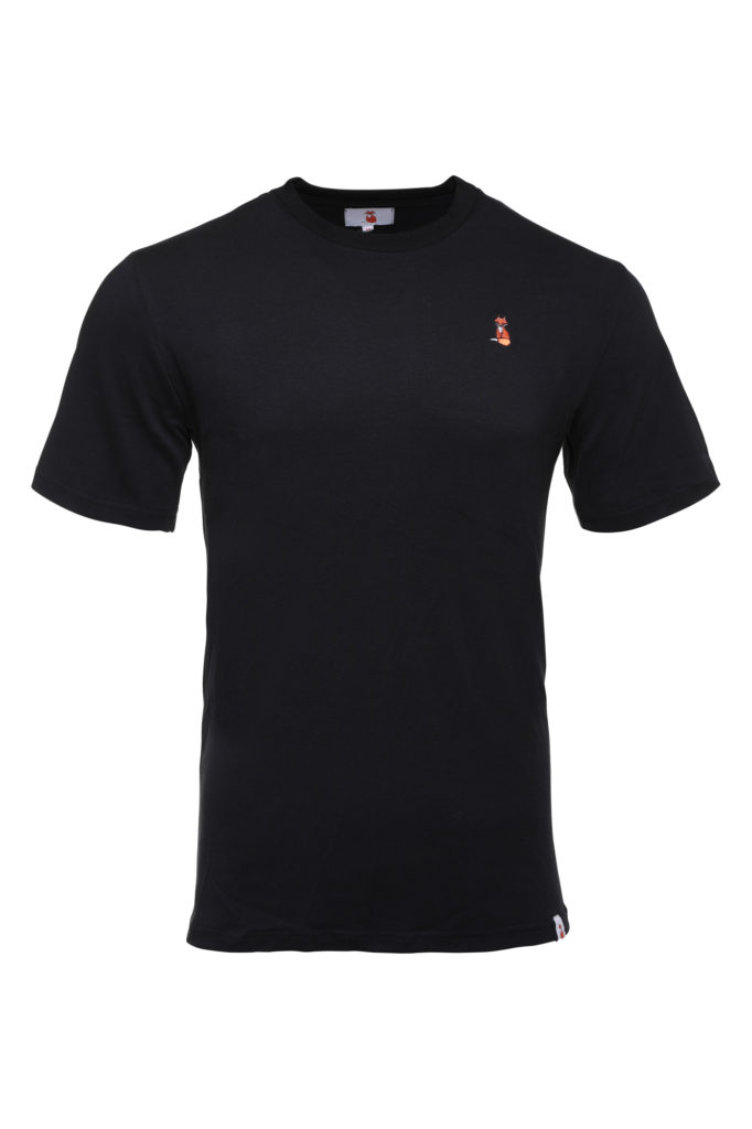 The BIG FOX Signature Black T Shirt